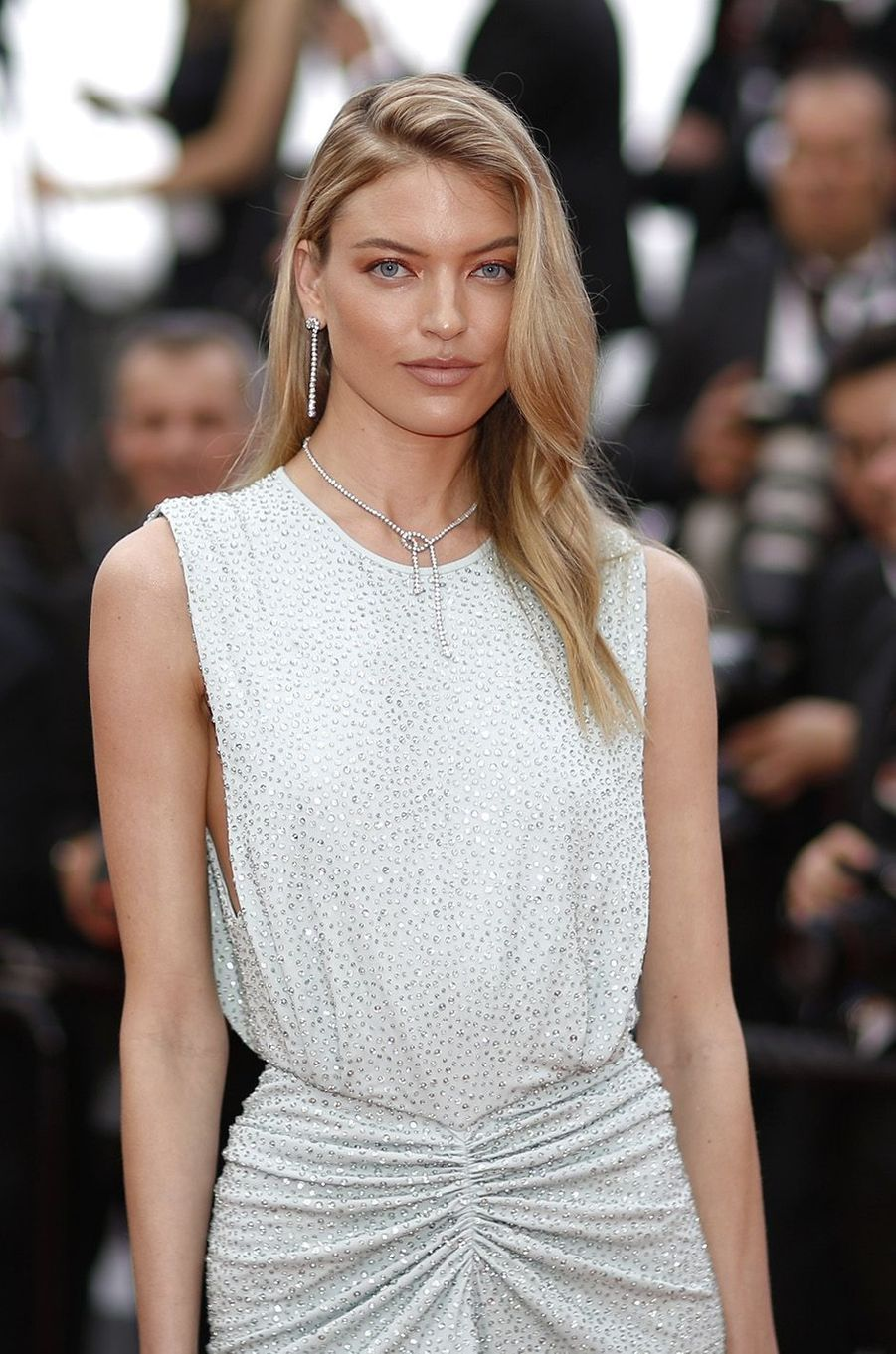 Martha Hunt à Cannes, le 18 mai 2018.