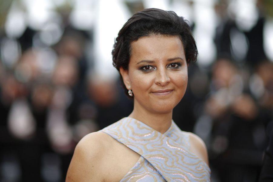 Najat Vallaud-Belkacem à Cannes, le 18 mai 2018.