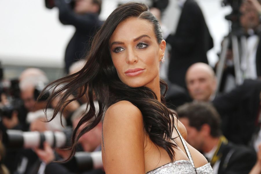Jade Lagardère à Cannes, le 18 mai 2018.