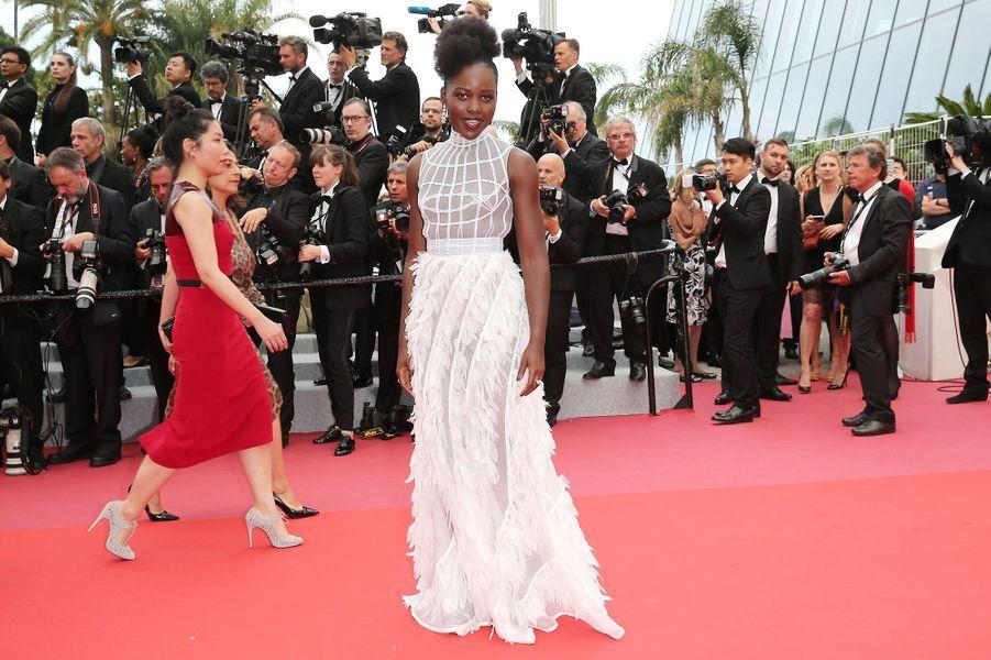 Lupita Nyong'o à Cannes, le 10 mai 2018.