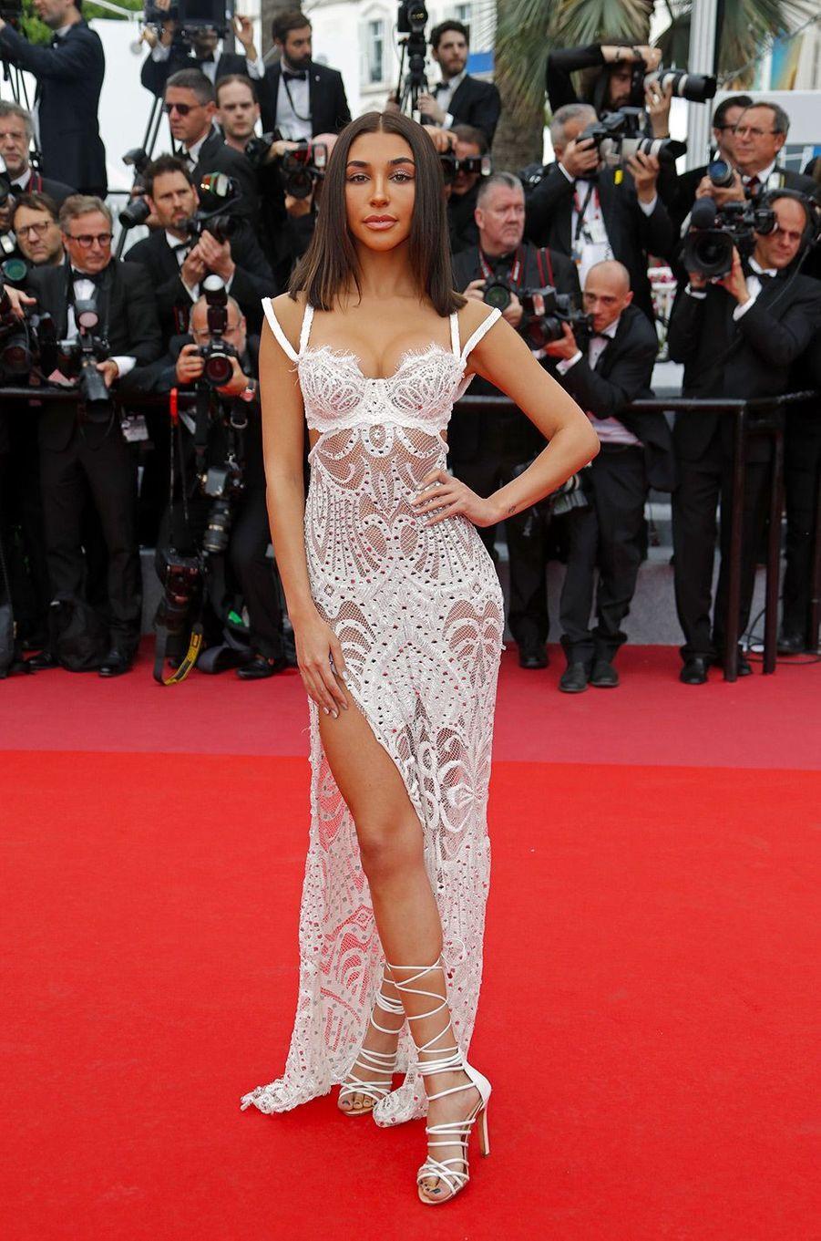 Chantel Jeffries monte les marches du Festival de Cannes, mercredi 9 mai