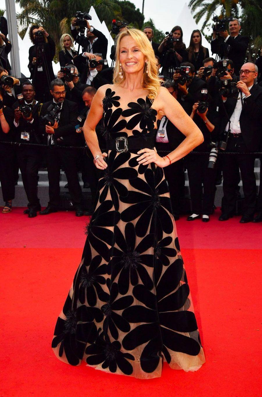 Estelle Lefébure en Yanina Couture