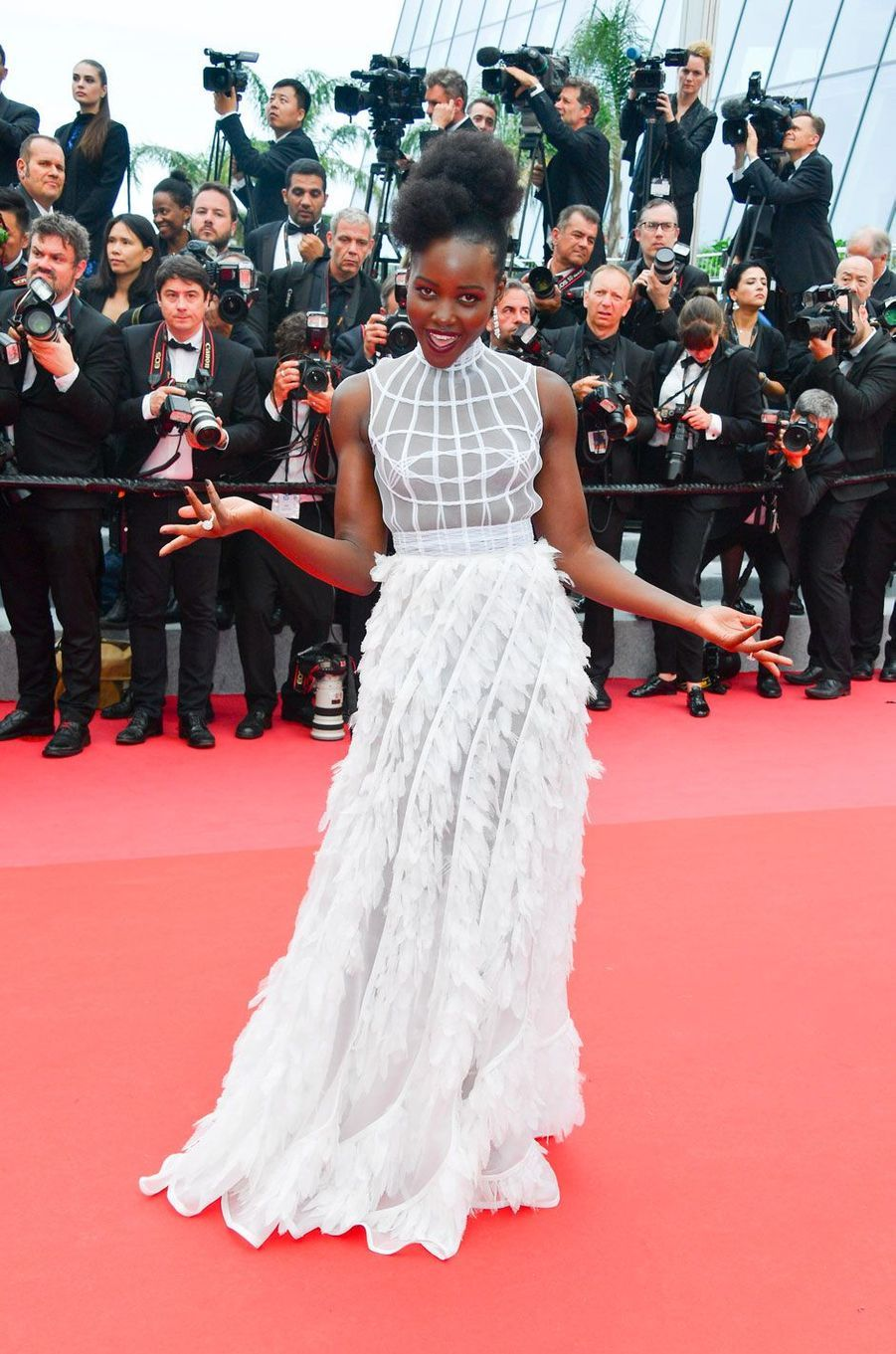 Lupita Nyong'o en Dior