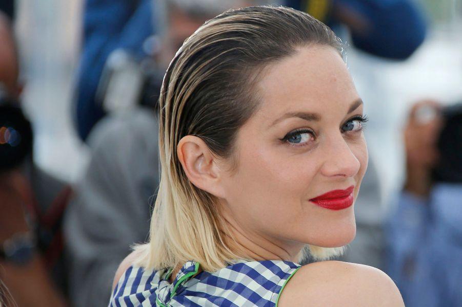 Marion Cotillard est à Cannes ce samedi pour la présentation dans la section Un Certain Regard de «Gueule d'ange», premier film deVanessa Filho.