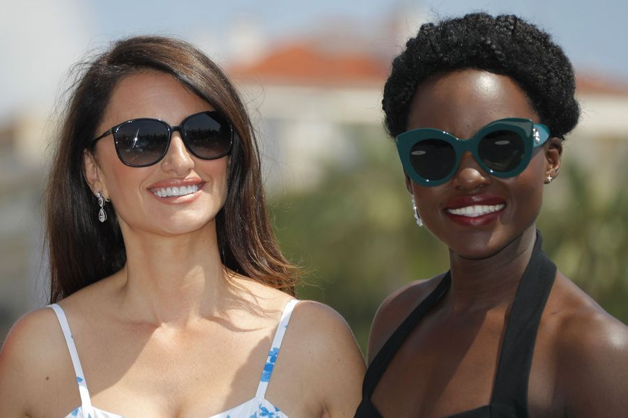 Penélope Cruz et Lupita Nyong'o sur la Croisette