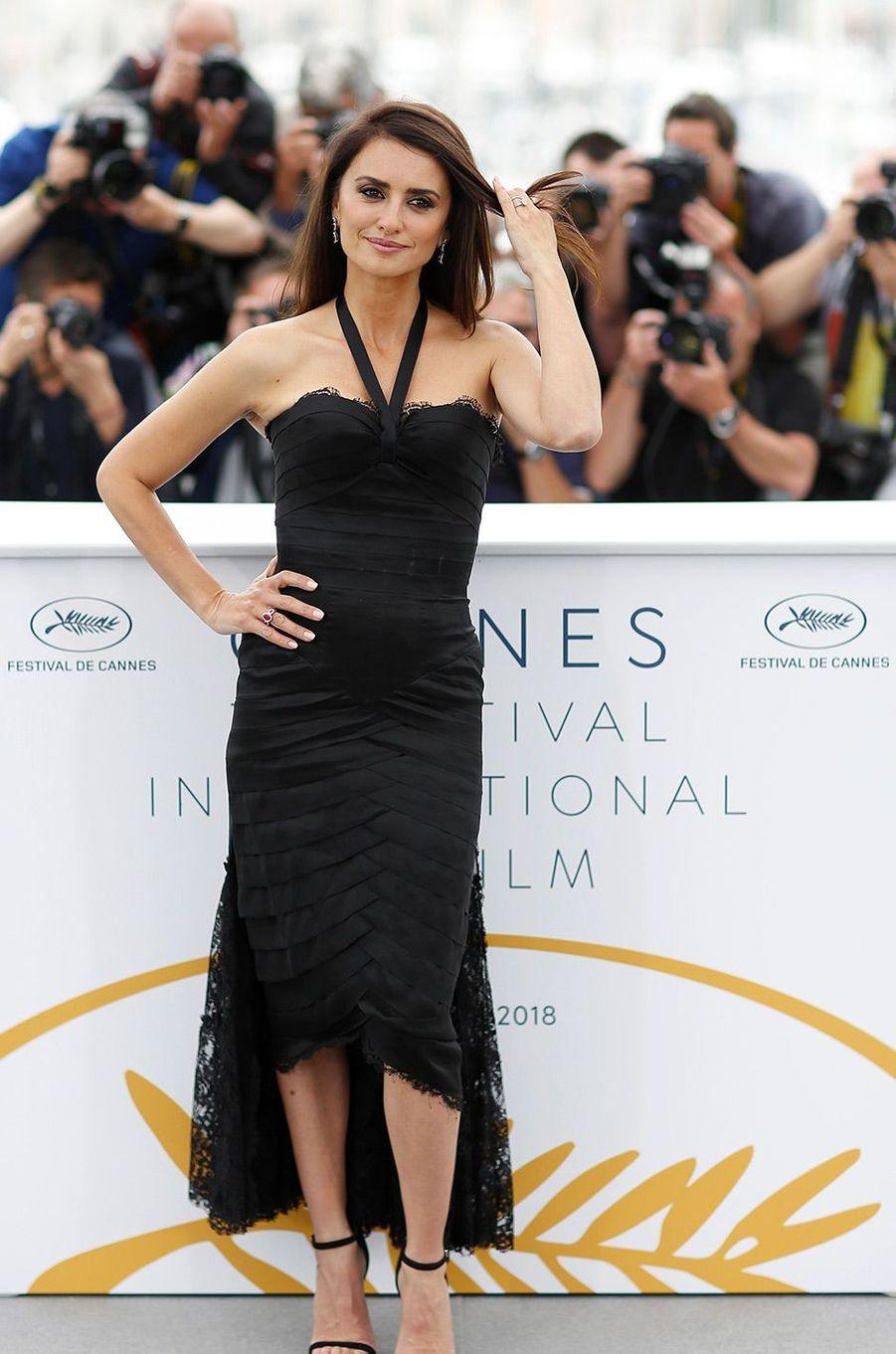 Penélope Cruz sur la Croisette mercredi 9 mai 2018