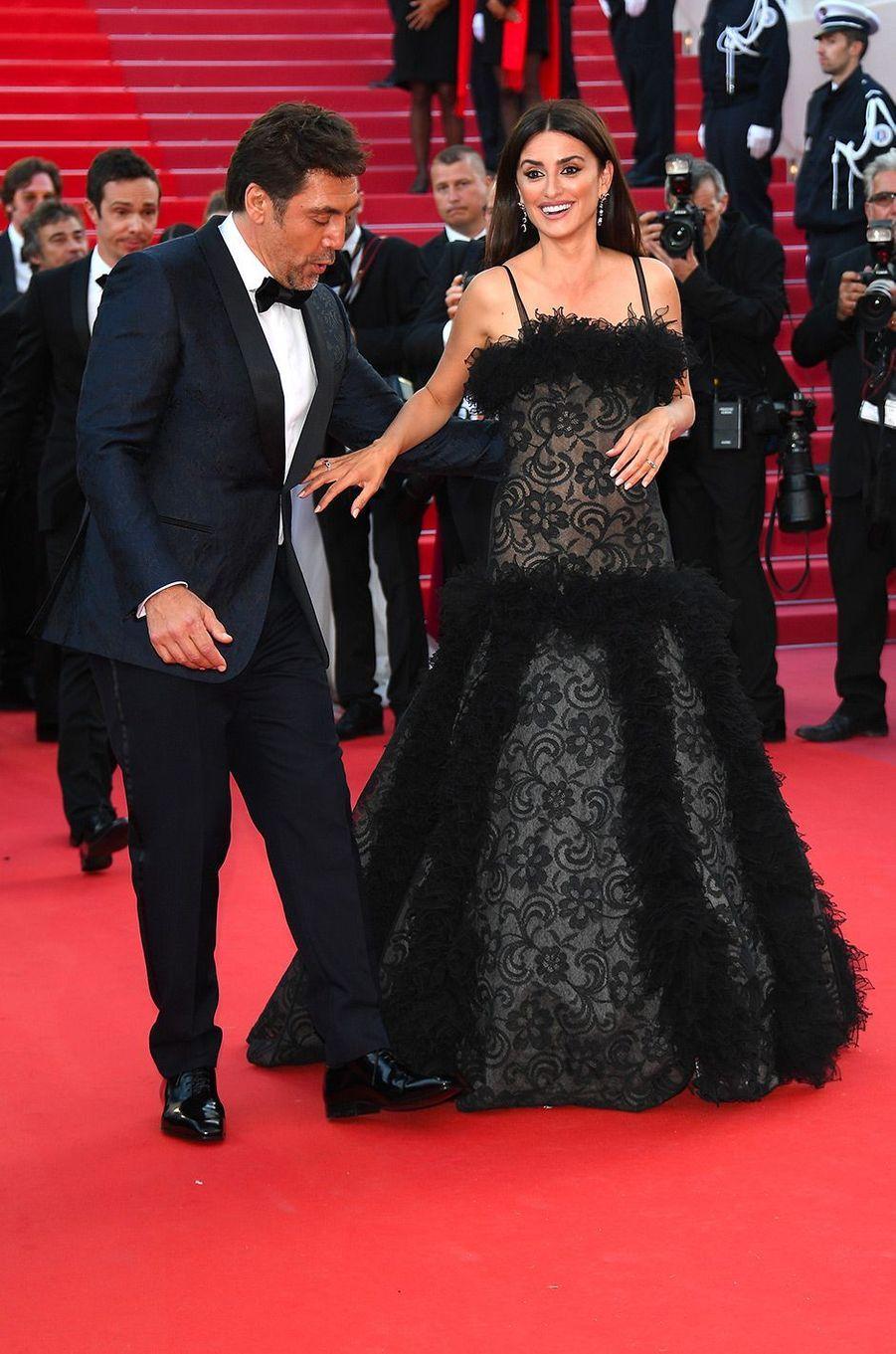 Penélope Cruz et Javier Bardem à la cérémonie d'ouverture du 71ème Festival de Cannes