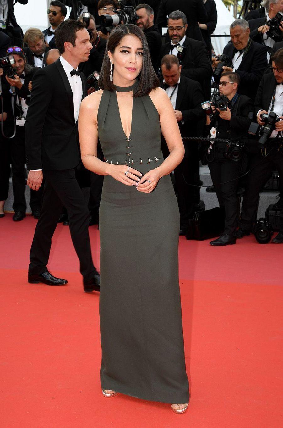 Leila Bektisur le tapis rouge du Festival de Cannes, le 8 mai 2018.