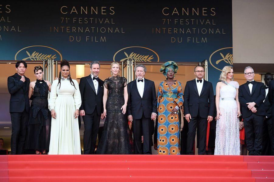 De Cate Blanchett à Kristen Stewart, voici le jury de ce 71e festival de Cannes.