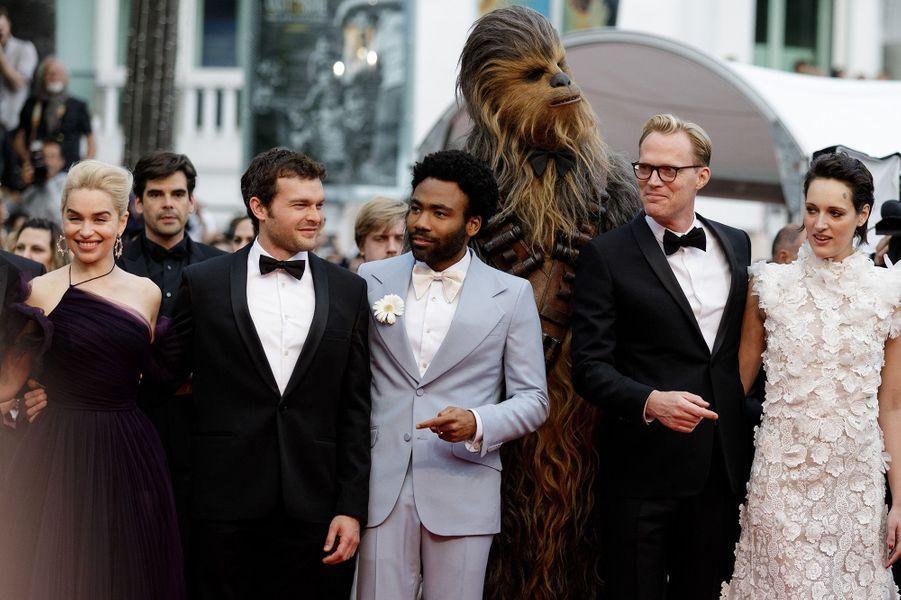 Star Wars a illuminé la Croisette, le 15 mai 2018.