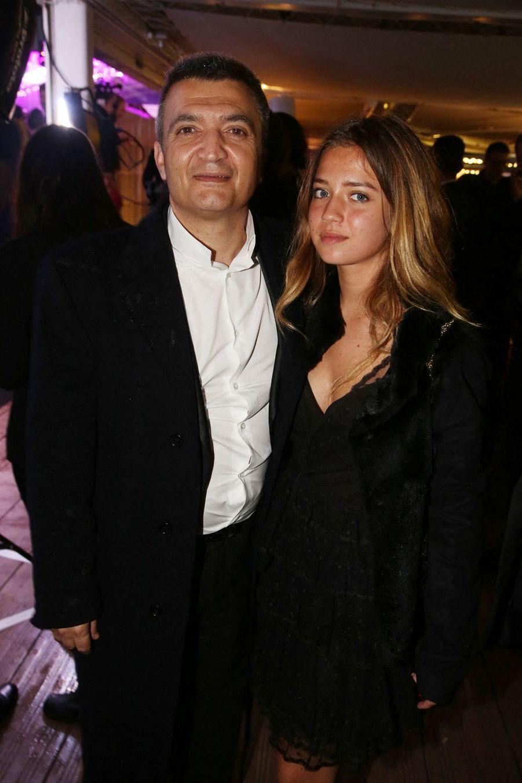 Thomas Langmann et sa fille Lou