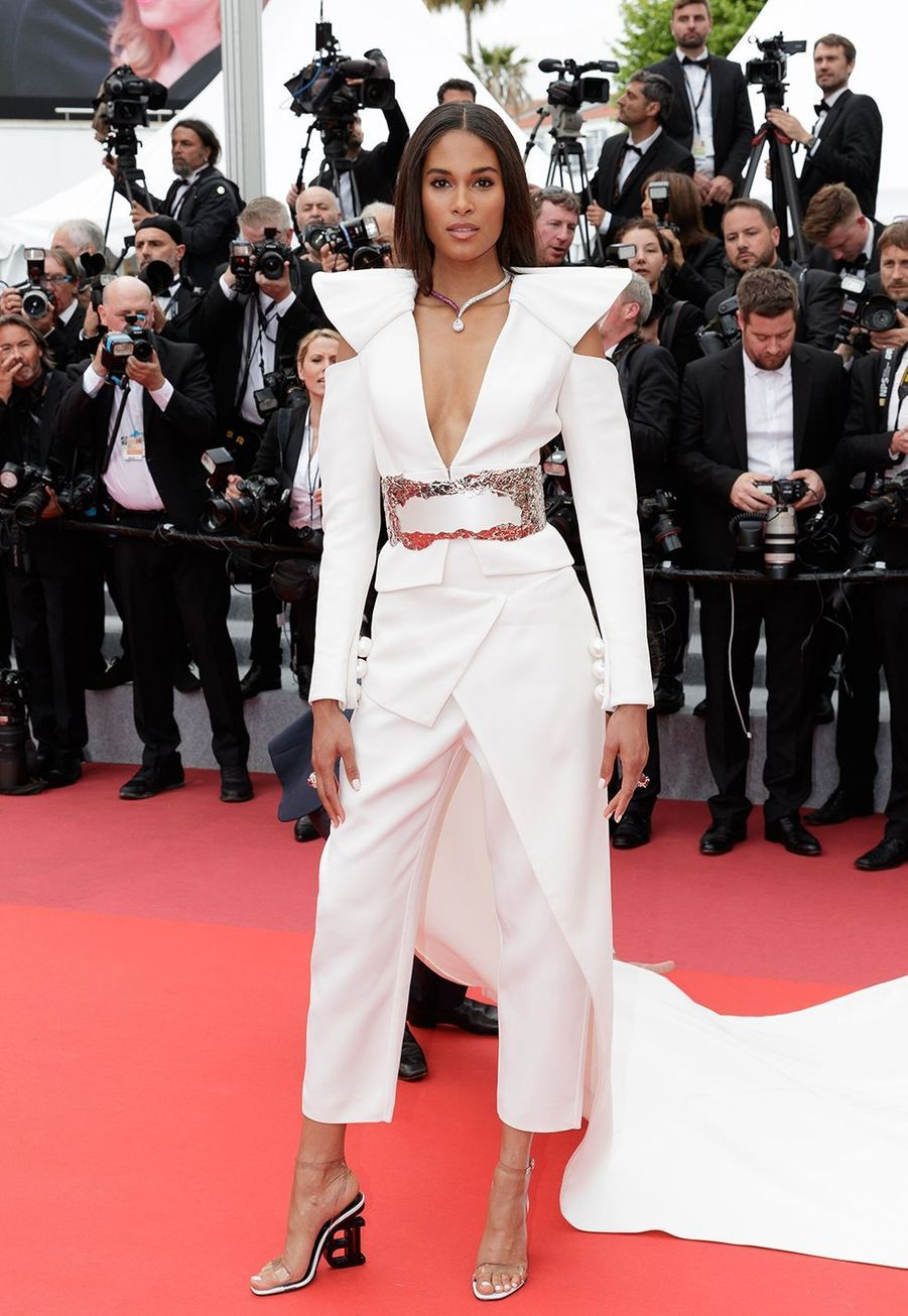 Cindy Bruna à Cannes le 20 mai 2019