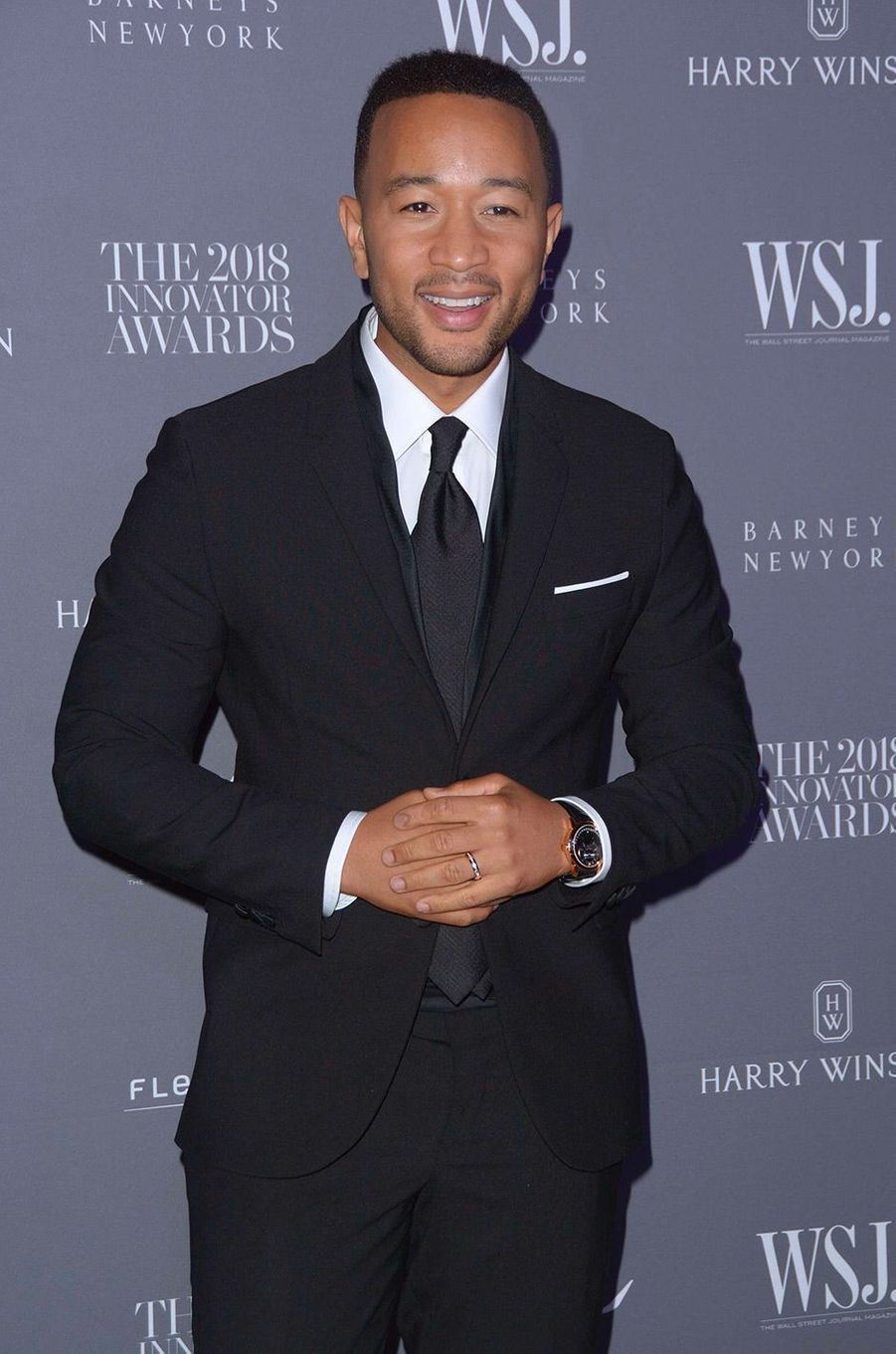 John Legend à la soiréeInnovator Awards, au MoMA, à New York, mercredi 7 novembre