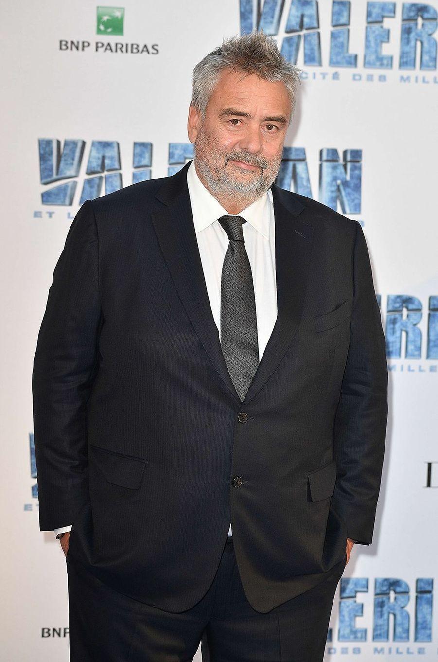 Luc Besson à Paris, le 25 juillet 2017.