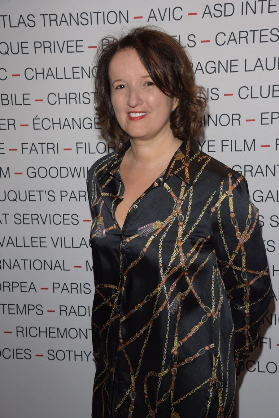 Anne Roumanoff lors du déjeuner du Chinese Business Club à Paris, le 8 mars 2019