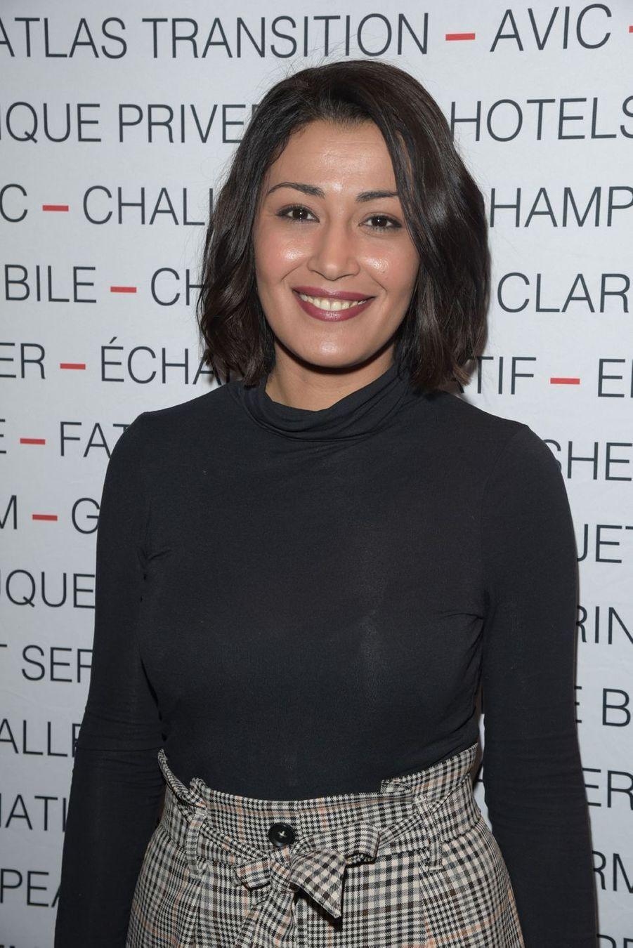 Karima Charnilors du déjeuner du Chinese Business Club à Paris, le 8 mars 2019