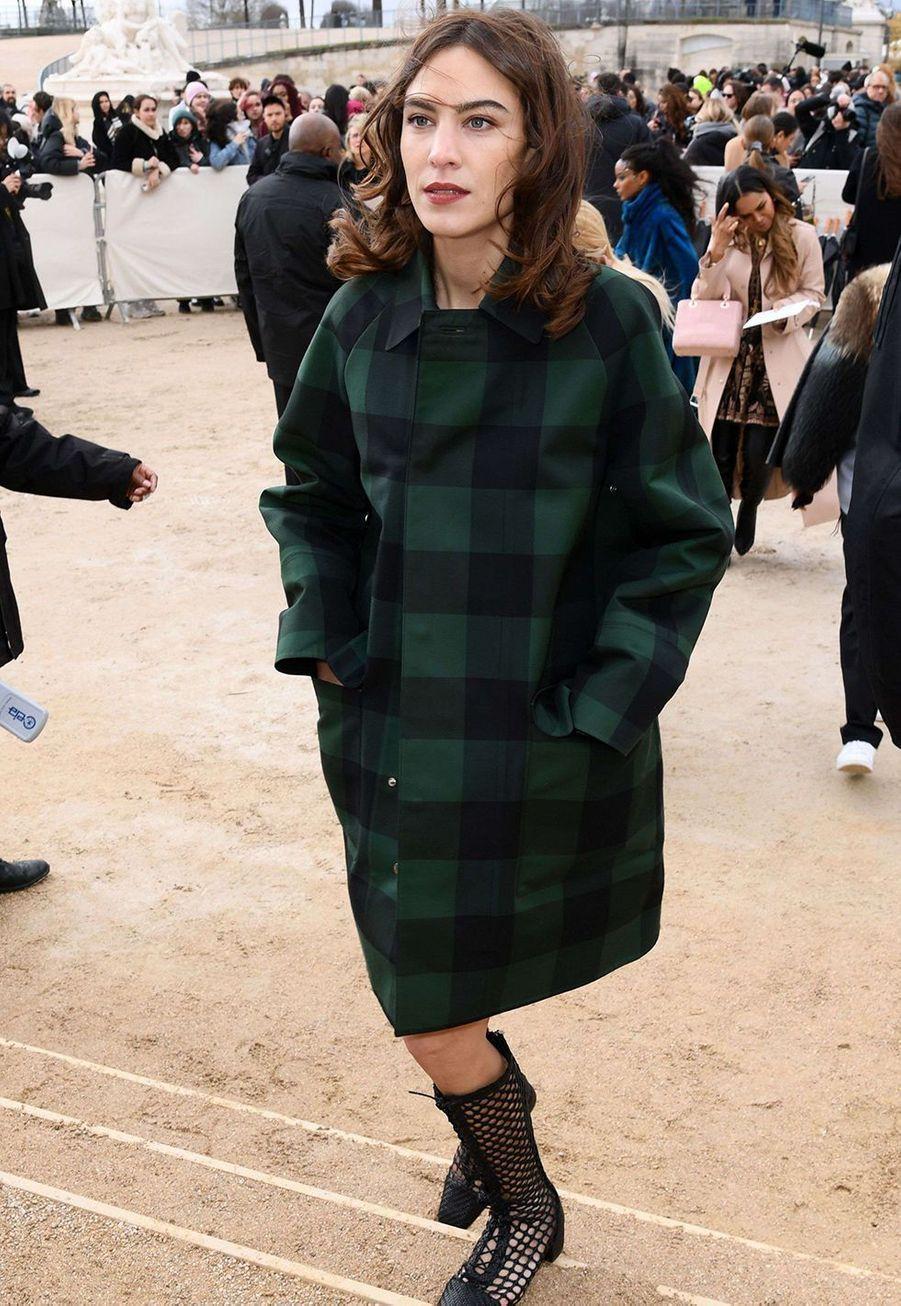 Alexa Chungau défilé Dior à Paris le 25 février 2020