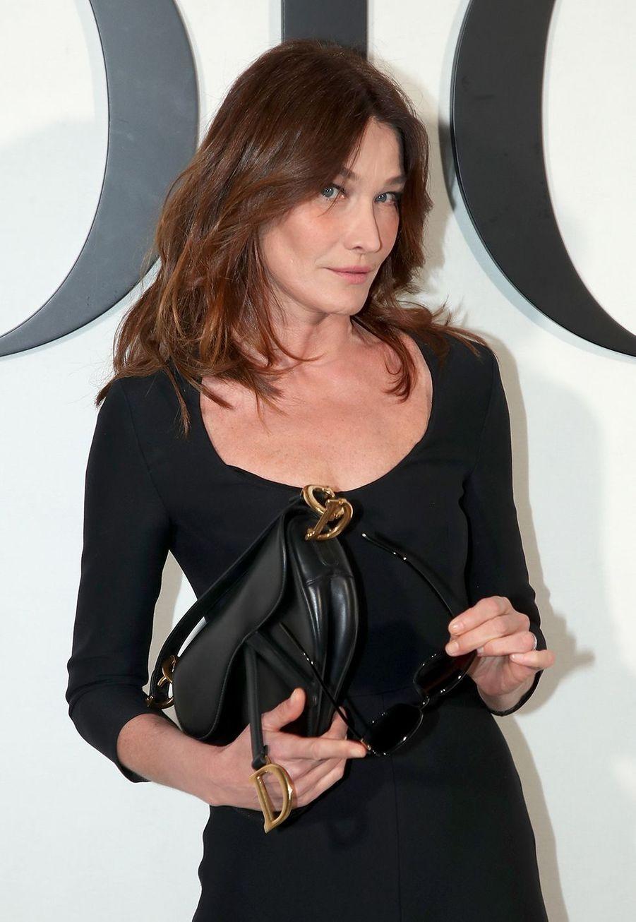 Carla Bruniau défilé Dior à Paris le 25 février 2020
