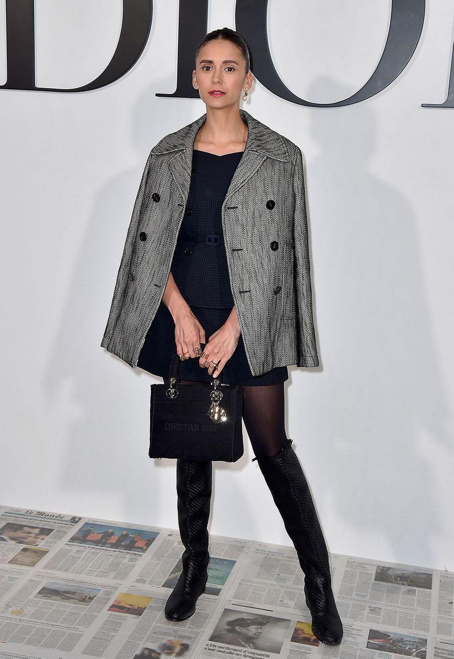 Nina Dobrevau défilé Dior à Paris le 25 février 2020