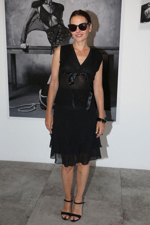 Virginie Ledoyenlors du vernissage de l'exposition Mondino Numéro 20 ans a Paris, le 4 juillet 2019