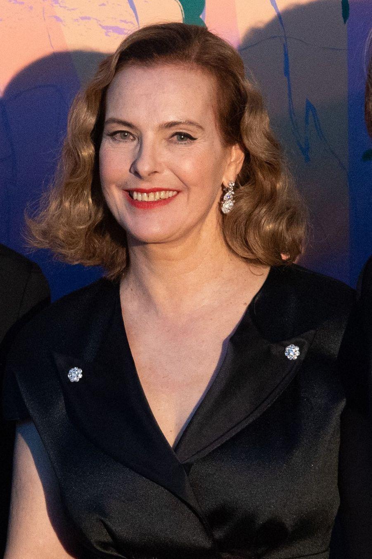 Carole Bouquet au Bal de la Rose à Monte-Carlo le 30 mars 2019