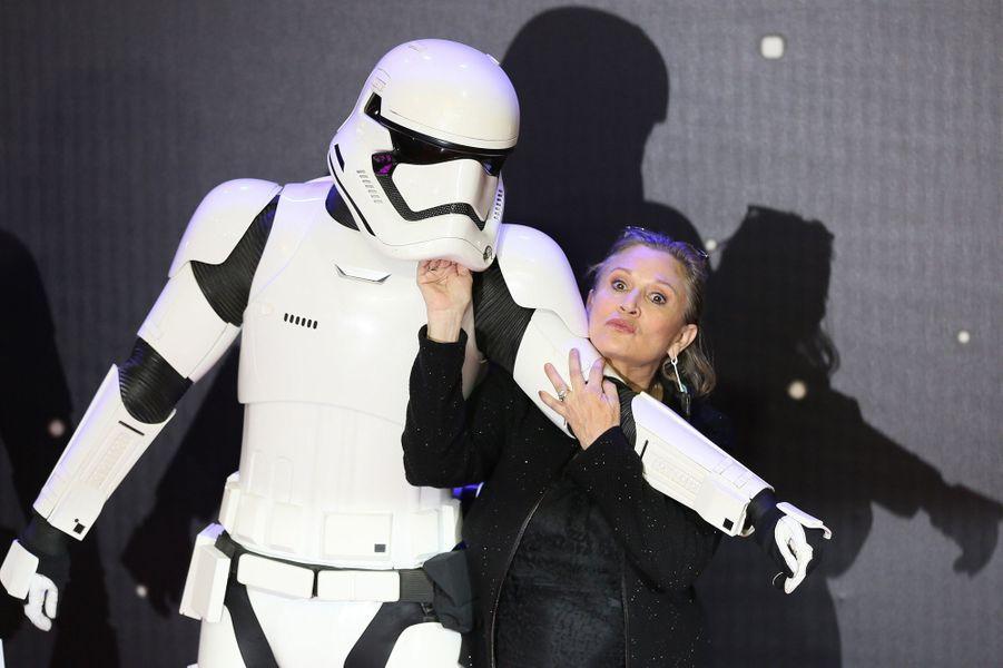 Carrie Fisher, l'éternelle Princesse Leia.