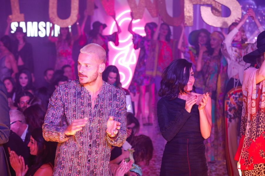 Matt Pokora et Jenifer au Casa Fashion Show