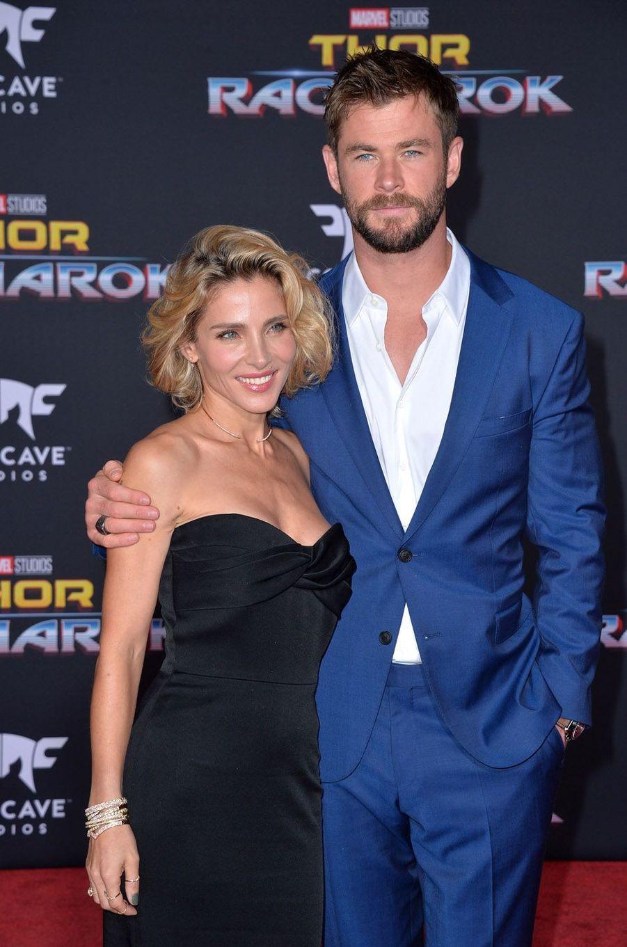 """Elsa Patakyà l'avant-première de """"Thor : Ragnarok"""", le 10 octobre à Los Angeles."""