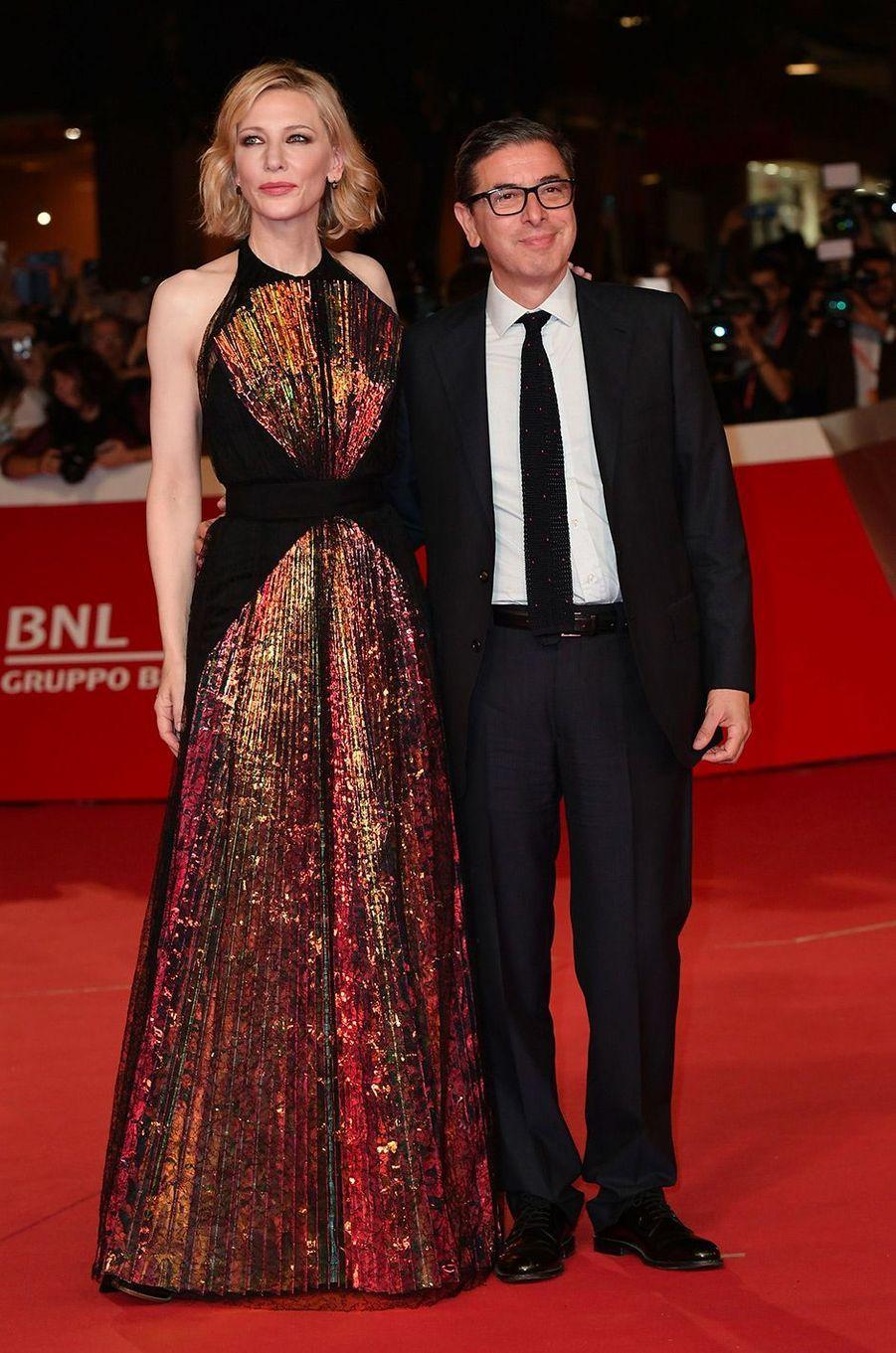 Cate Blanchett au Festival du Film de Rome, vendredi 19 octobre