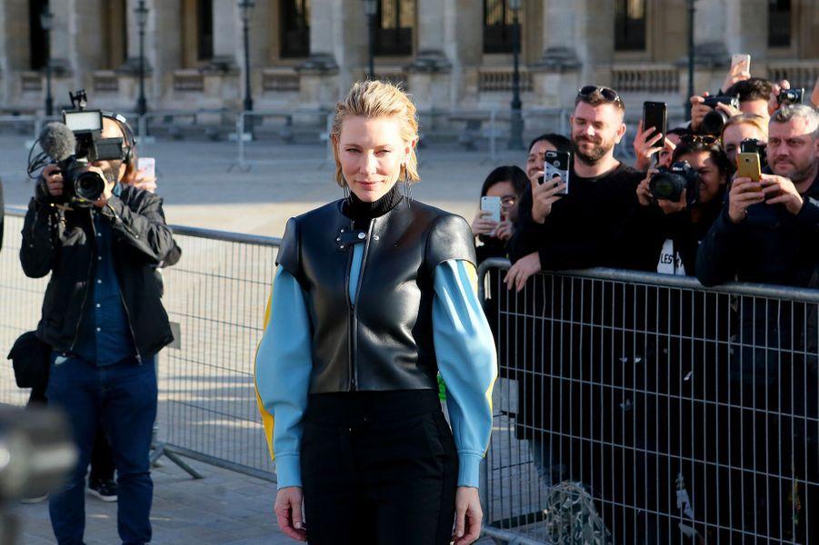 Cate Blanchett au défilé Louis Vuitton à Paris