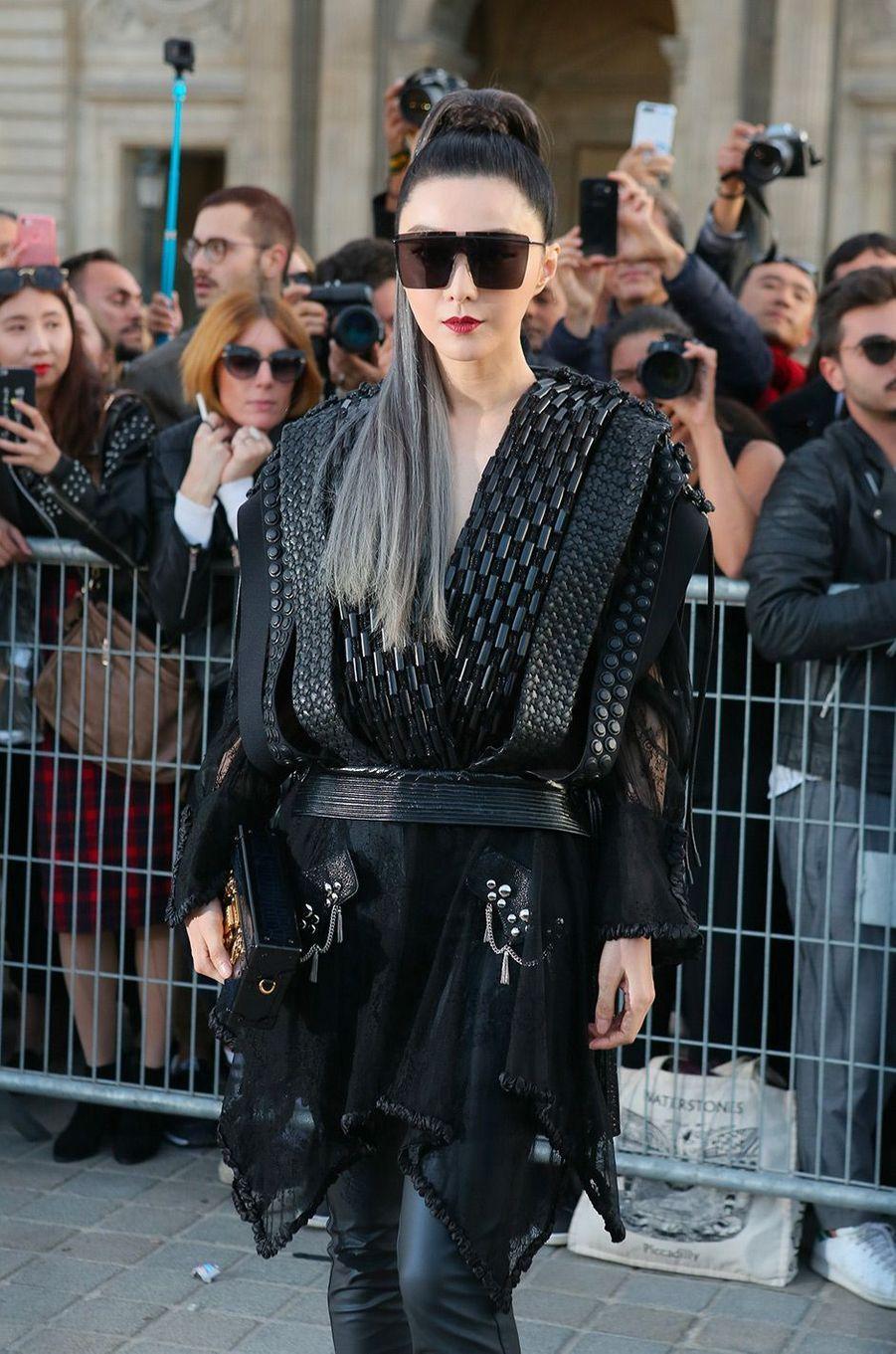 Fan Bingbingau défilé Louis Vuitton à Paris