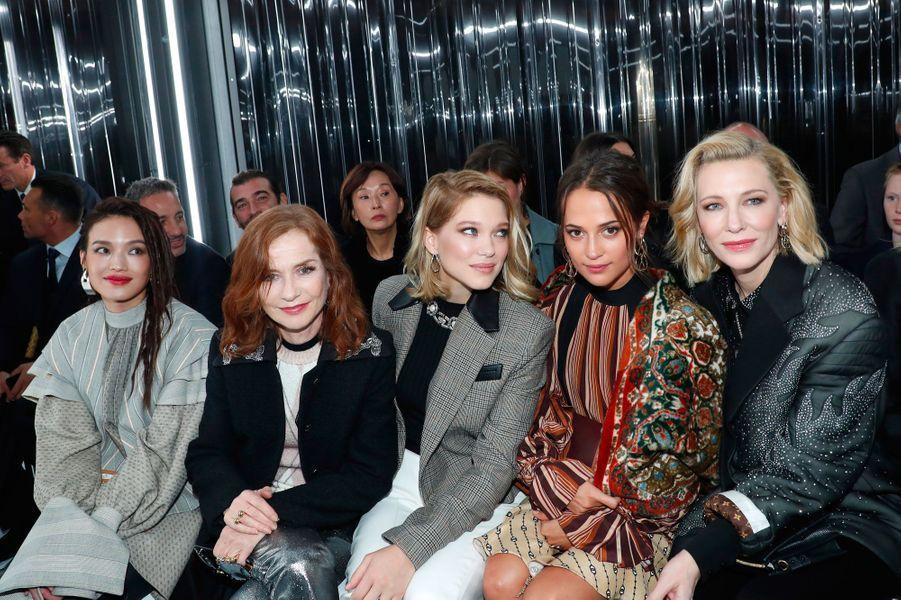 Shu Qi, Isabelle Huppert, Lea Seydoux, Alicia Vikander et Cate Blanchett
