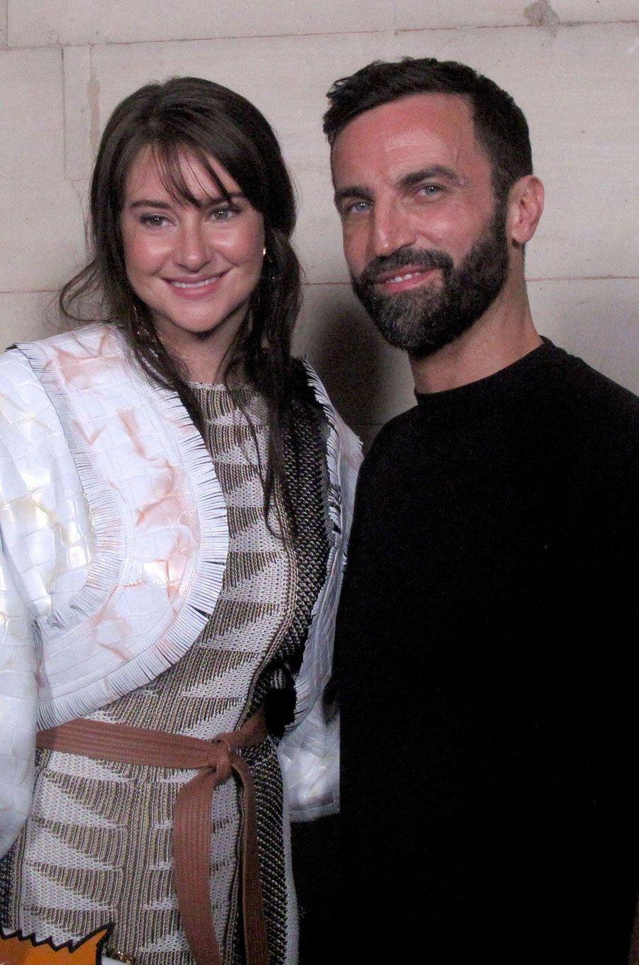 Shailene Woodley et Nicolas Ghesquière
