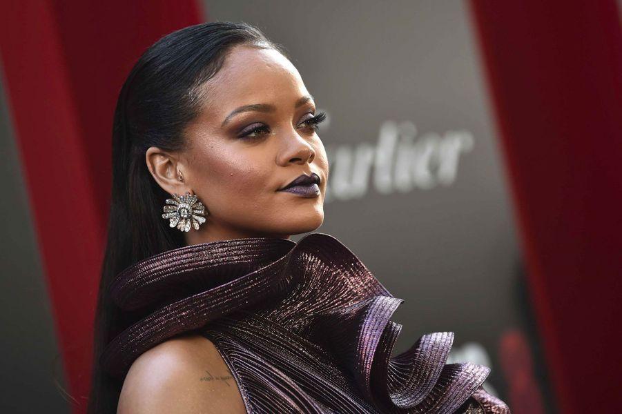 Rihanna à l'avant-première à New York le 5 juin 2018