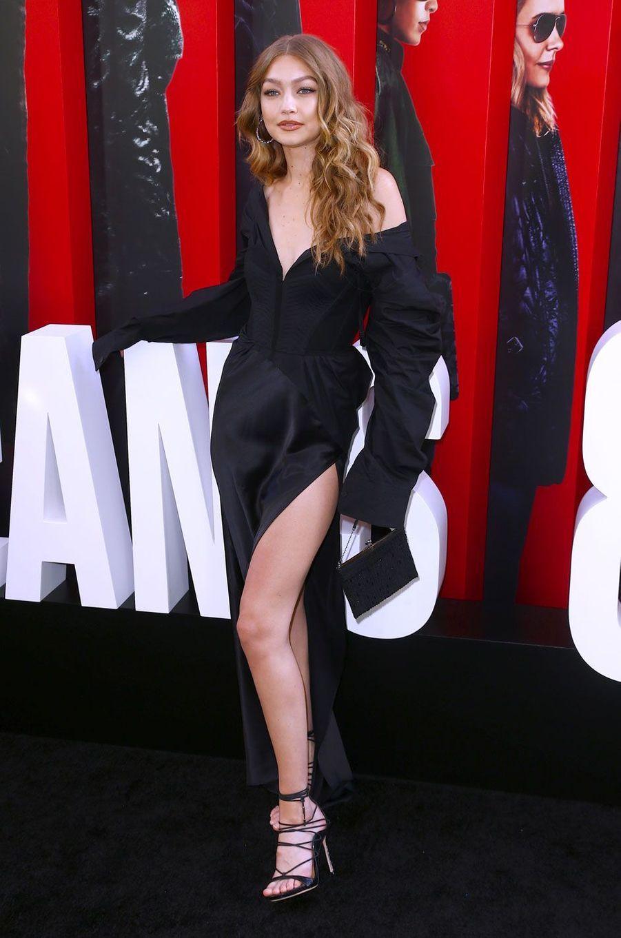 Gigi Hadid à l'avant-première à New York le 5 juin 2018