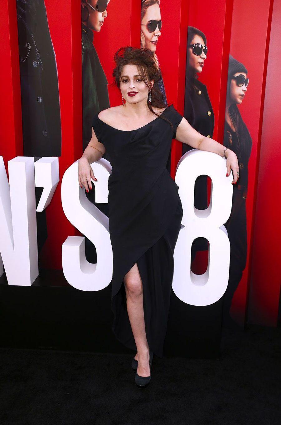 Helena Boham Carter à l'avant-première à New York le 5 juin 2018