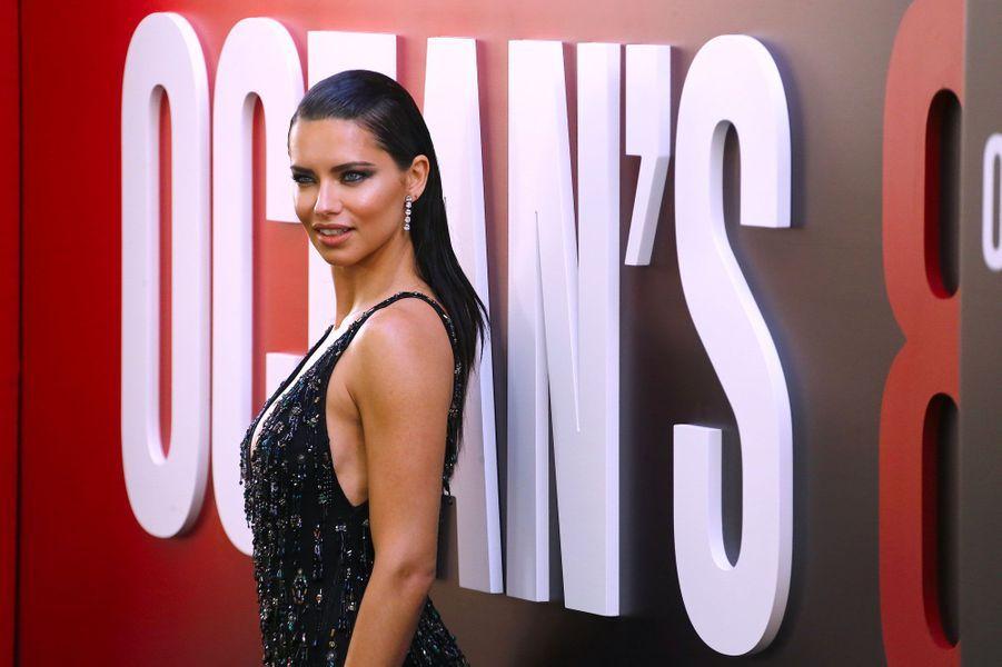 Adriana Lima à l'avant-première à New York le 5 juin 2018
