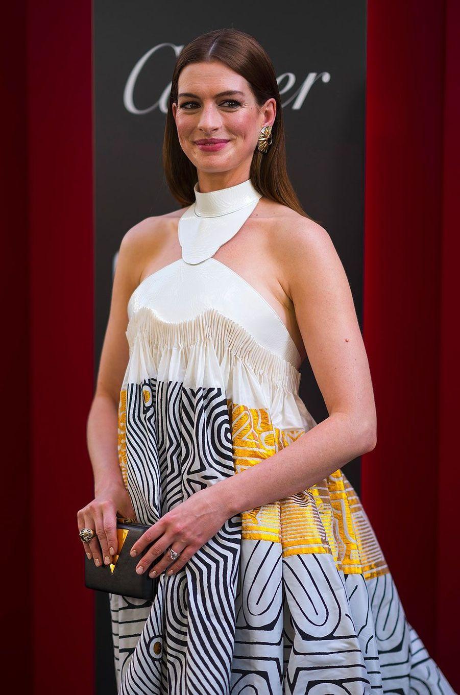 Anne Hathaway à l'avant-première à New York le 5 juin 2018