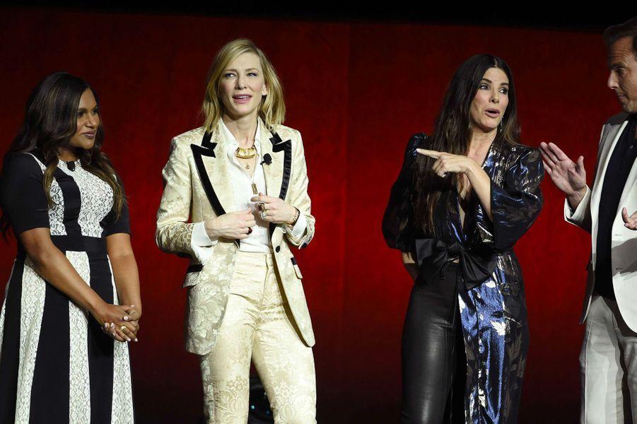 Mindy Kaling, Sandra Bullock, Cate Blanchett au CinemaCon de Las Vegas