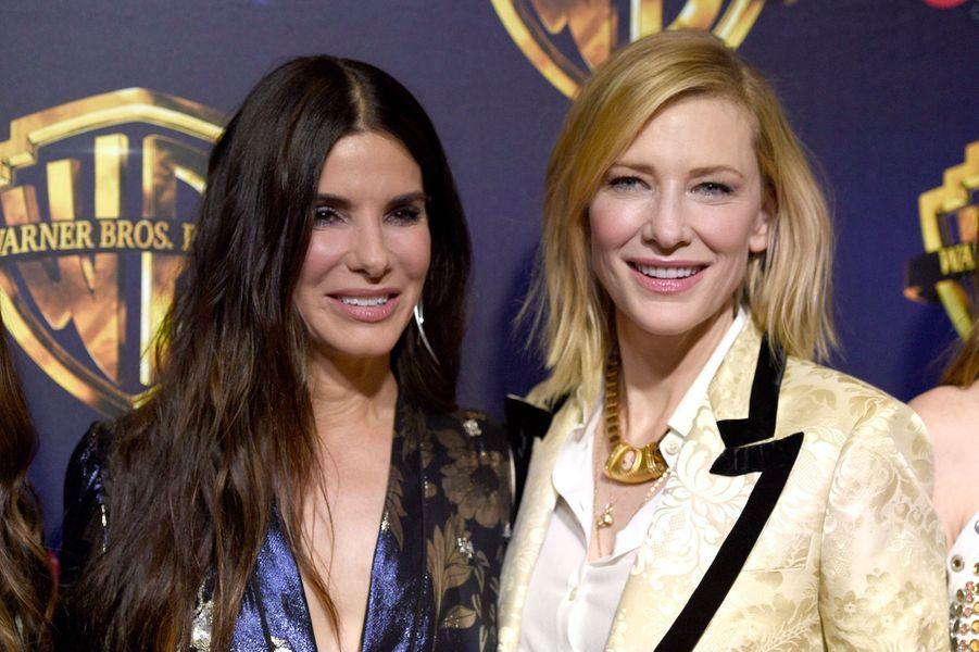 Sandra Bullock et Cate Blanchett au CinemaCon de Las Vegas