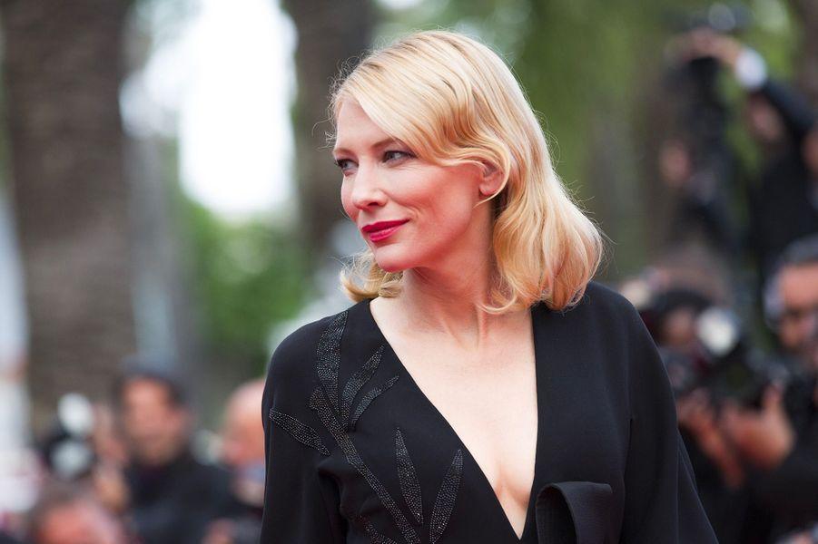 Cate Blanchett avec Rooney Mara au 68e Festival de Cannes (2015)