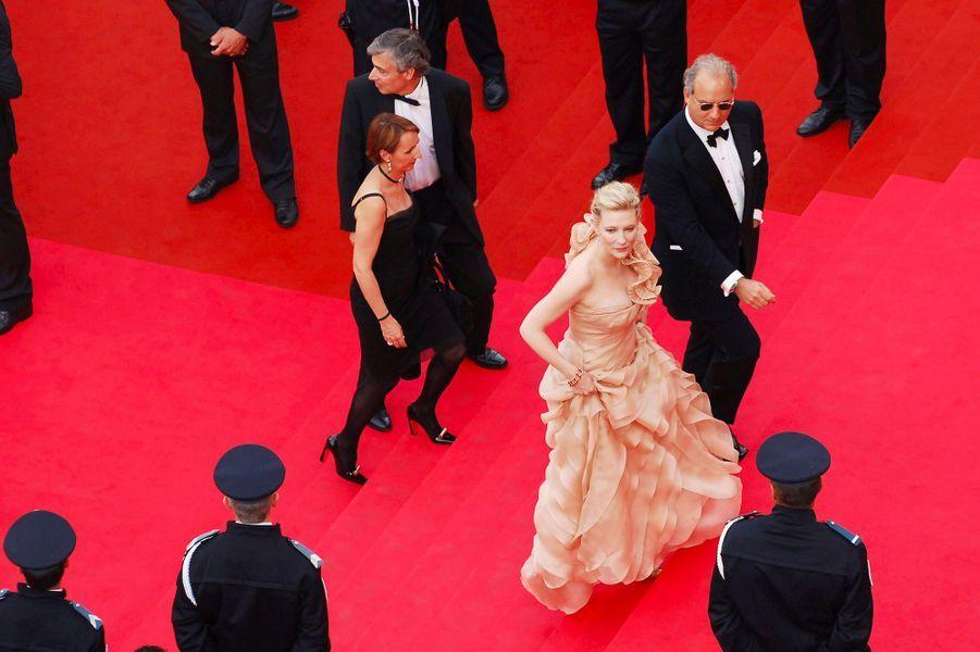 Cate Blanchett au 61e Festival de Cannes (2008) lors de la cérémonie d'ouverture