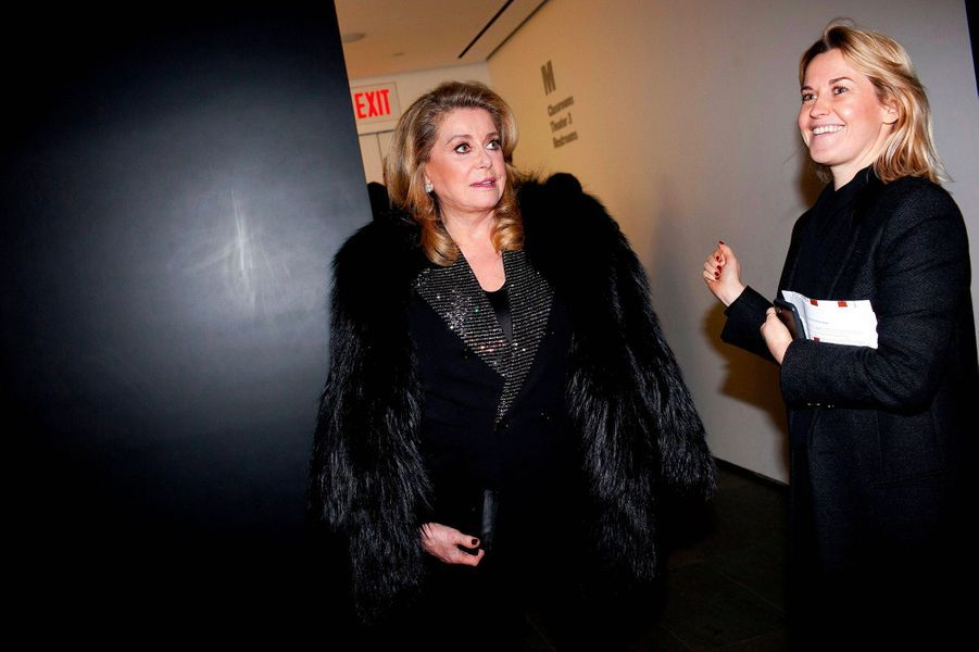 Catherine Deneuve, à New York, mercredi 19 décembre