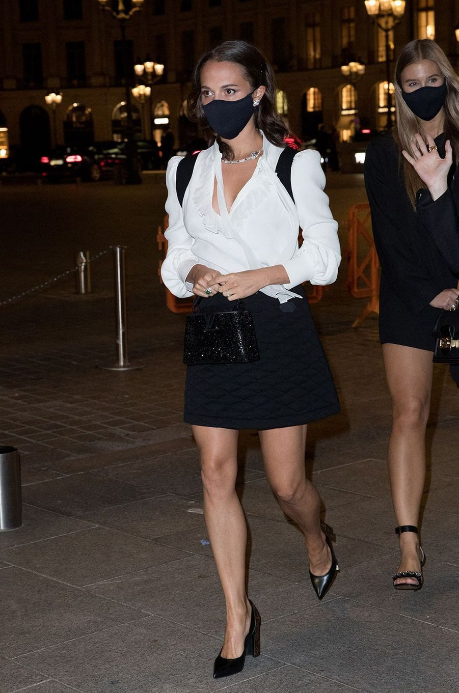Alicia Vikanderà Paris le 28 septembre 2020