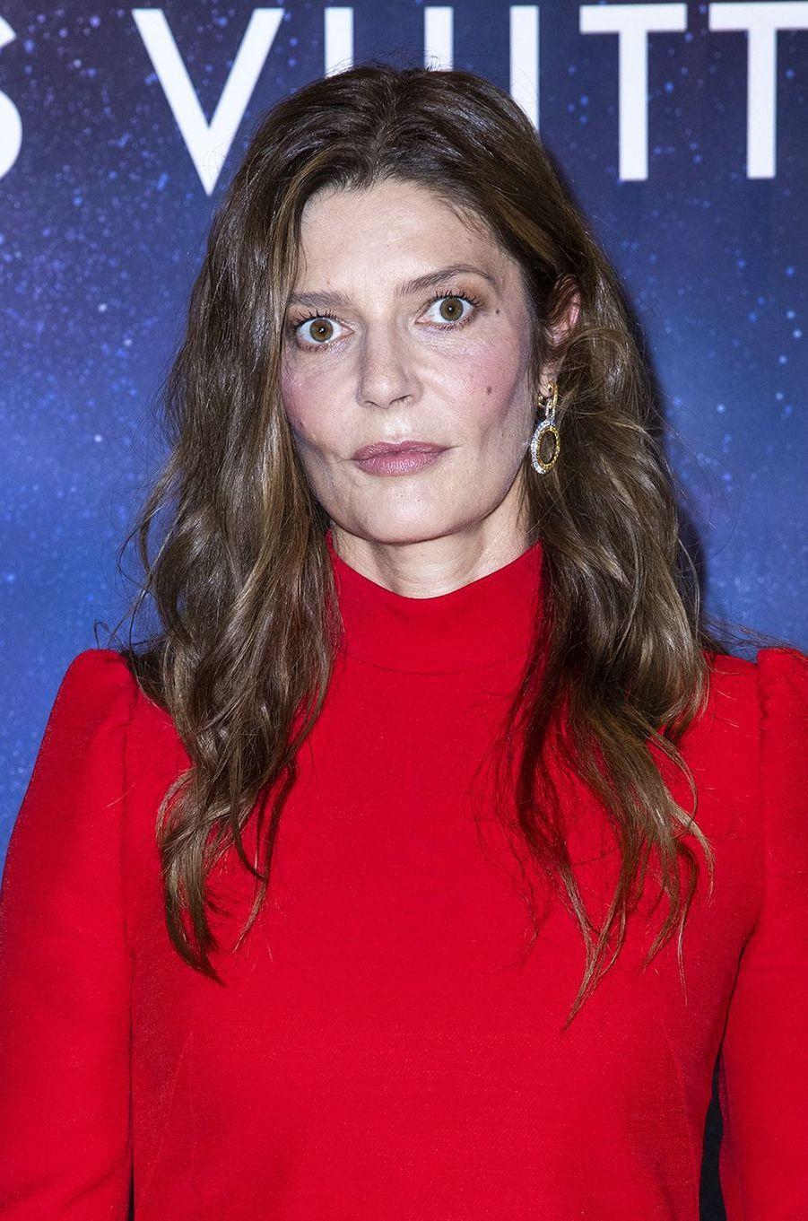 Chiara Mastroianniàla soirée Louis Vuitton pour la présentation de la collection de haute joaillerie«Stellar Times»à Paris le 28 septembre 2020