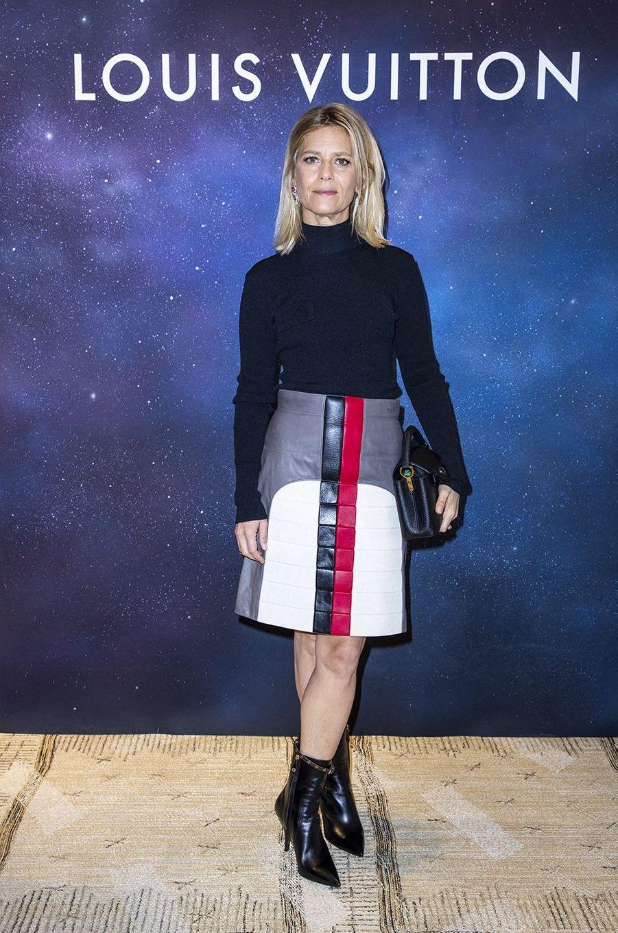 Marina Foïsàla soirée Louis Vuitton pour la présentation de la collection de haute joaillerie«Stellar Times»à Paris le 28 septembre 2020