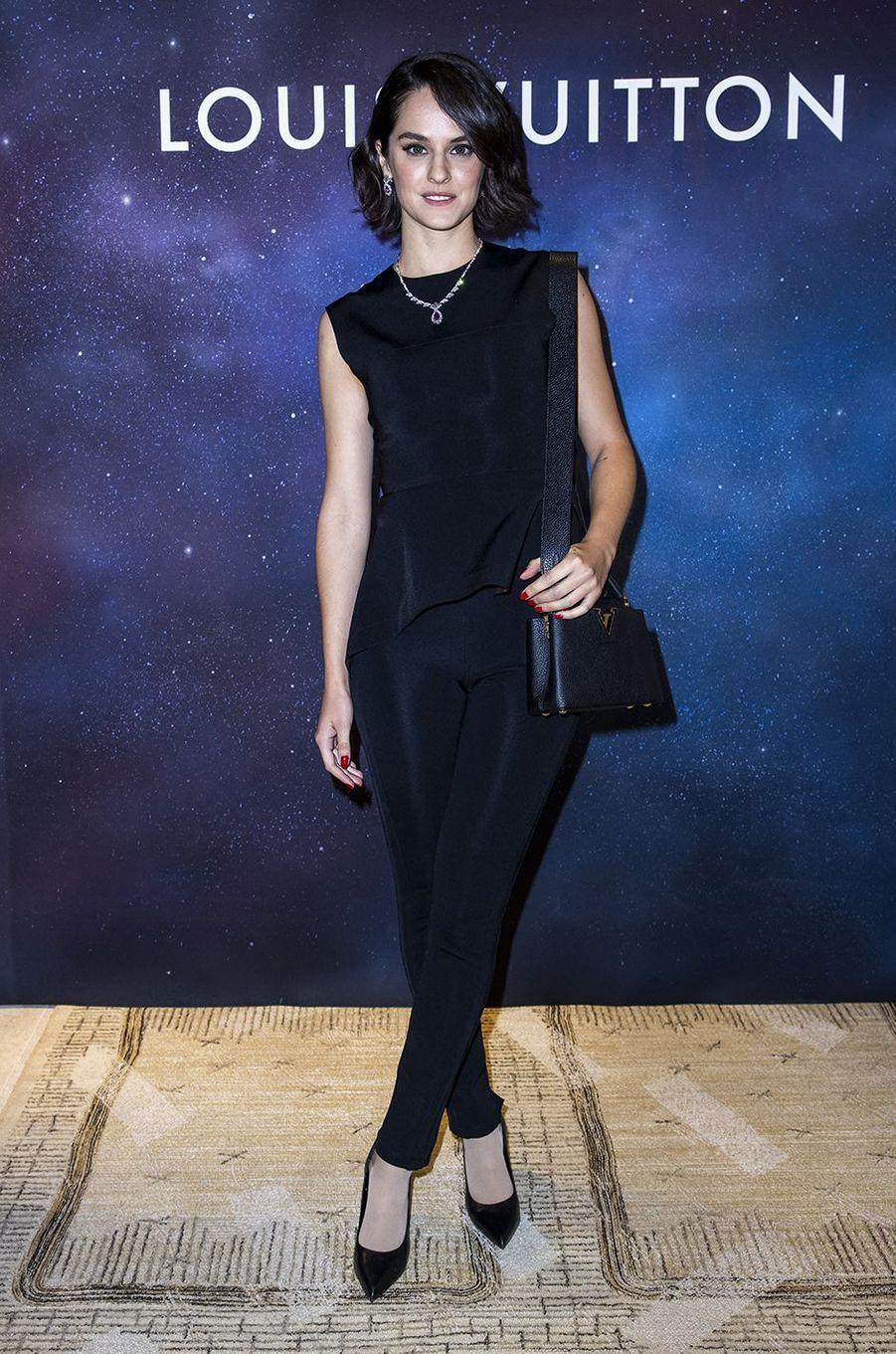 Noémie Merlantàla soirée Louis Vuitton pour la présentation de la collection de haute joaillerie«Stellar Times»à Paris le 28 septembre 2020