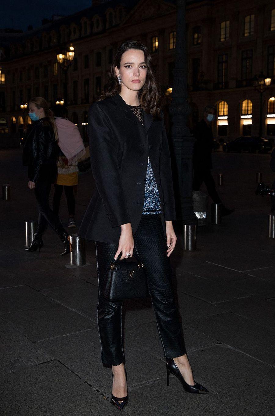 Stacy Martinà Paris le 28 septembre 2020