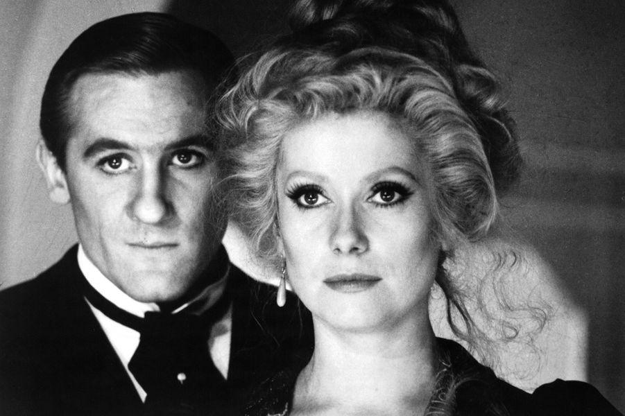 Catherine Deneuve avec Gerard Depardieu en 1980