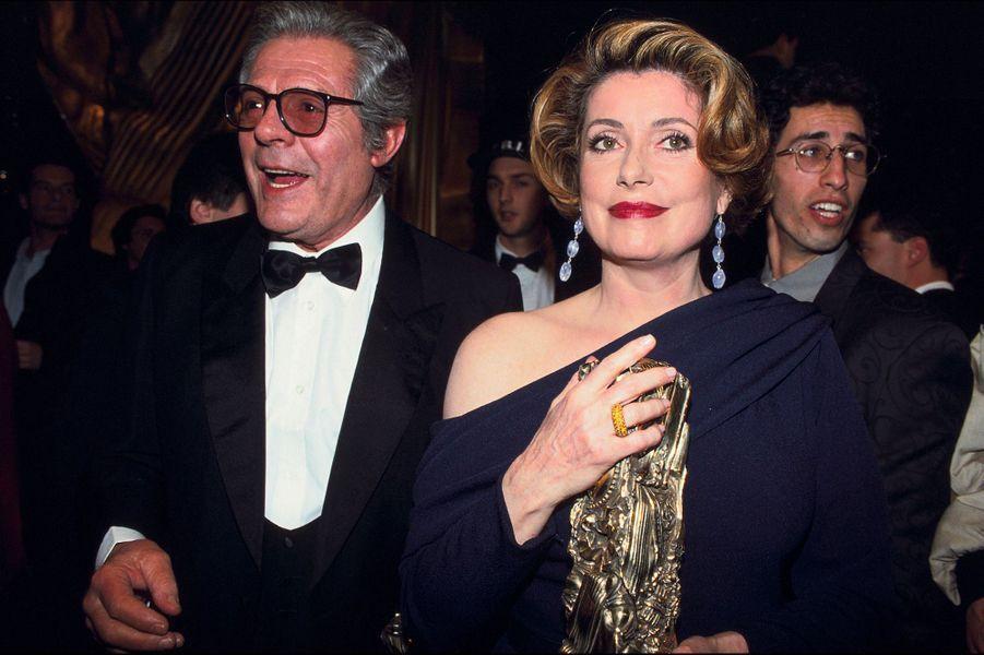 Catherine Deneuve en 1993